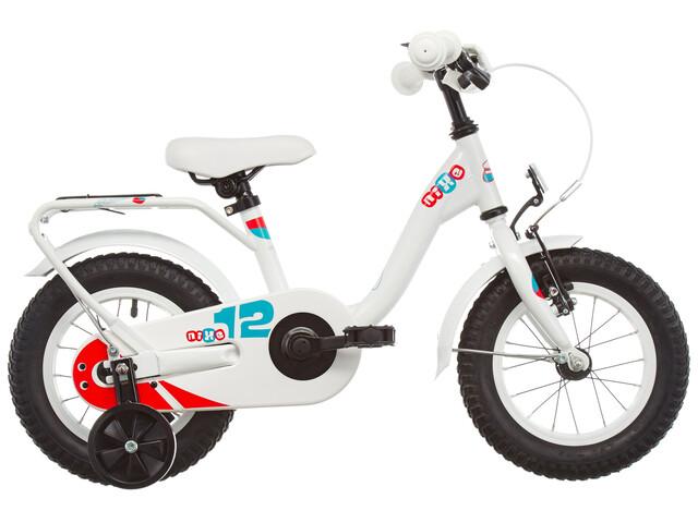 s'cool niXe 12 Børnecykel steel hvid